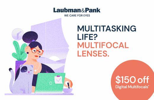 Laubman & Pank's Digital Multifocal Lenses Offer