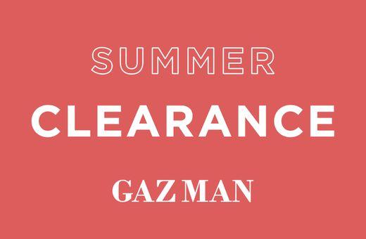 GAZMAN's Summer Clearance