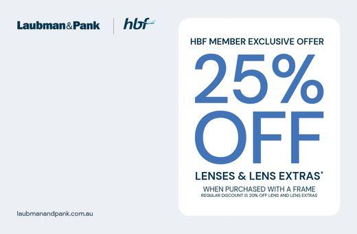 Laubman & Pank's HBF Exclusive Offer