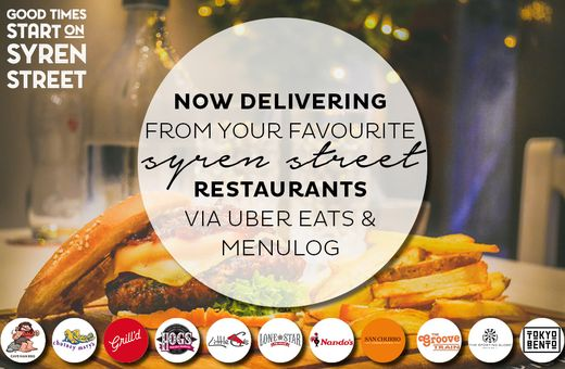 Syren Street is open for takeaway and deliveries!