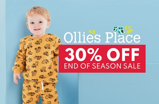 Ollie's Place End of Season Sale