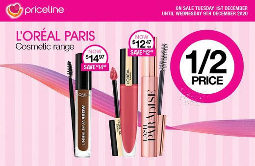 Priceline's December Catalogue Sale