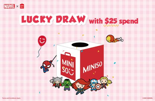 MINISO Marvel Lucky Draw Event