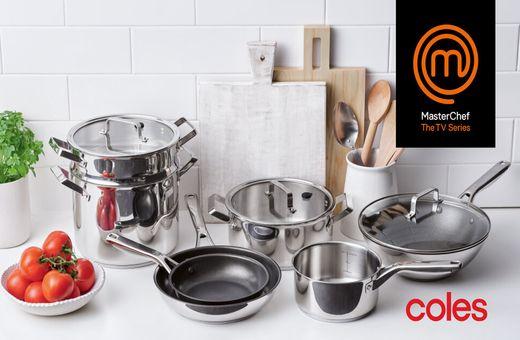 Coles x MasterChef Cookware