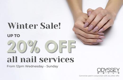 Odyssey Nails Winter Sale