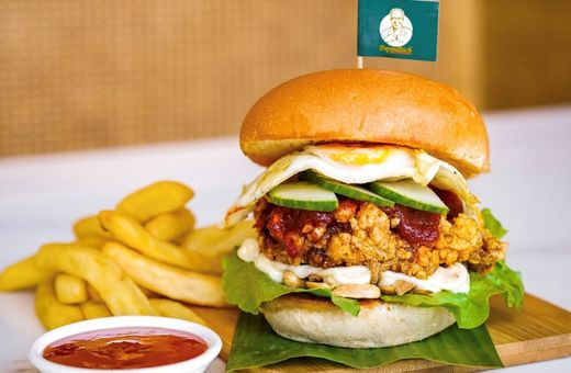 Make your next burger BOLD with PappaRich