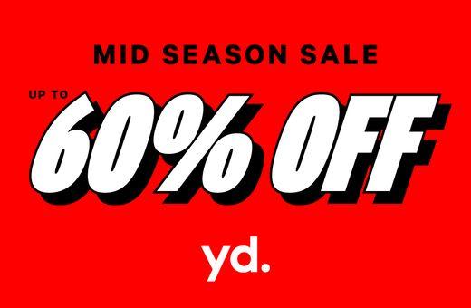 Mid Season Sale at yd.