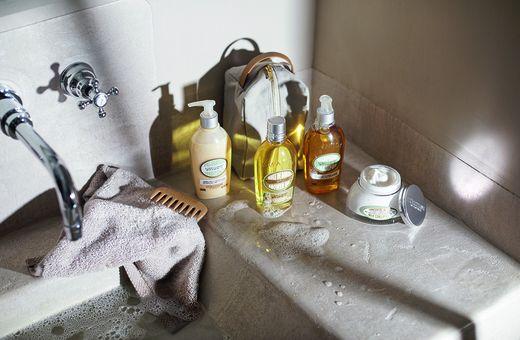 L'OCCITANE's Delicious Almond Shower Essentials