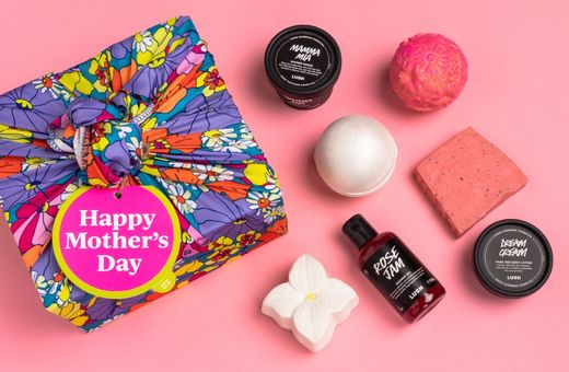 LUSH's 6 New Vegan Treats for Mother's Day
