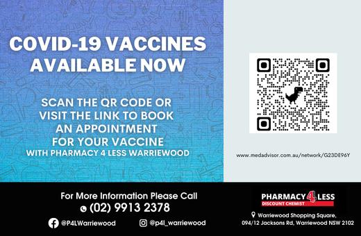 Pharmacy 4 Less Covid19 Vaccine