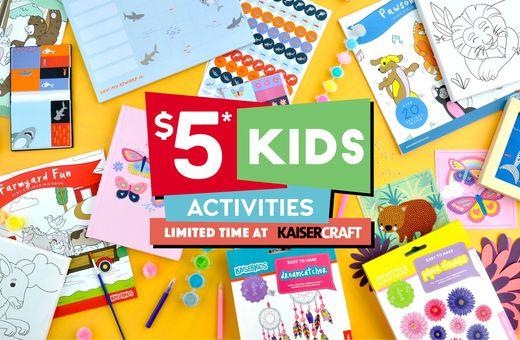 $5 Kids Activities