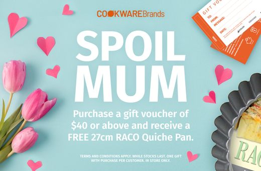 Cookware Brands Mothers Day Promotion