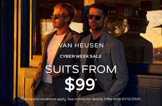 Van Heusen's Cyber Week Sale