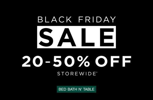 Bed Bath N Table's Big Shopping Week Sale