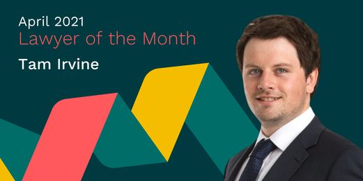 Tam Irvine, Lawyer of the Month Flex Legal