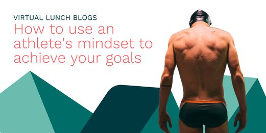 A swimmer stands, transfixed, before the Flex Legal branding. His mindset his flawless. His goals are clearly defined. He is perfect.