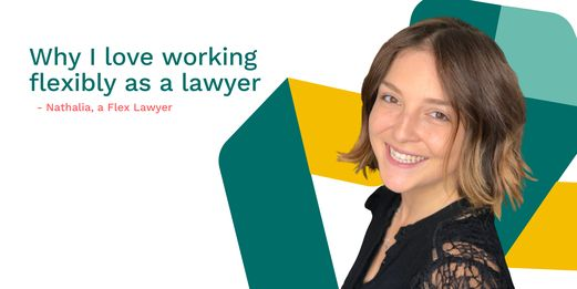 Why I love working flexibly as a lawyer