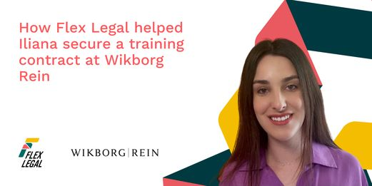 How Flex Legal helped Iliana secure a training contract