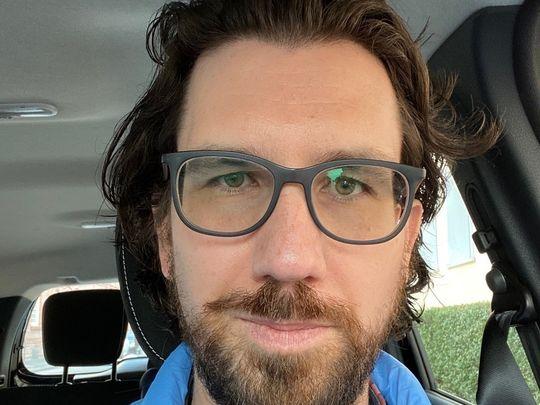 Christoph Palmert (39). Er leitet bei TrostHelden derzeit die Trauergruppen