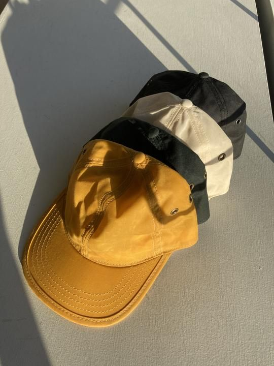 6 Panel Cap - Waxed Canvas Hat