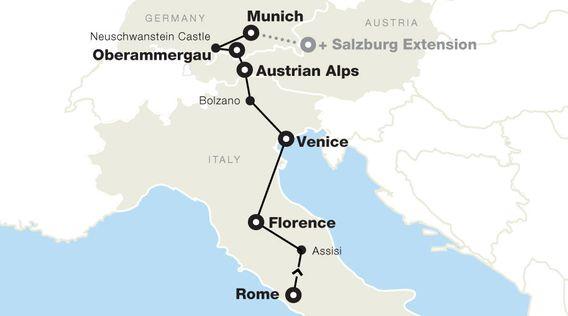 Italy Tours Trips To 2021