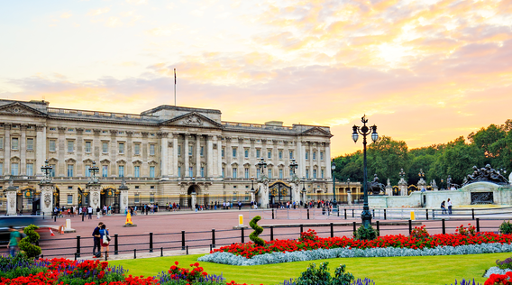 buckingham palace in london england