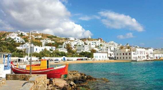The Greek Islands: Mykonos, Santorini & Crete