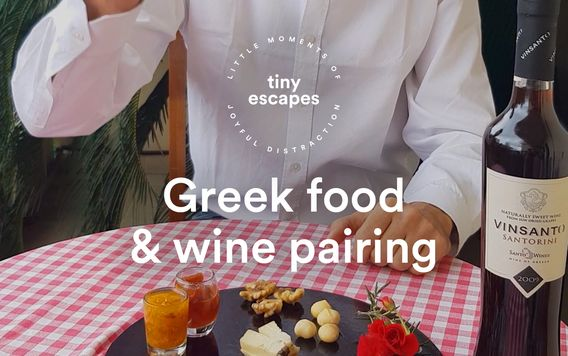 Greek food and wine pairing