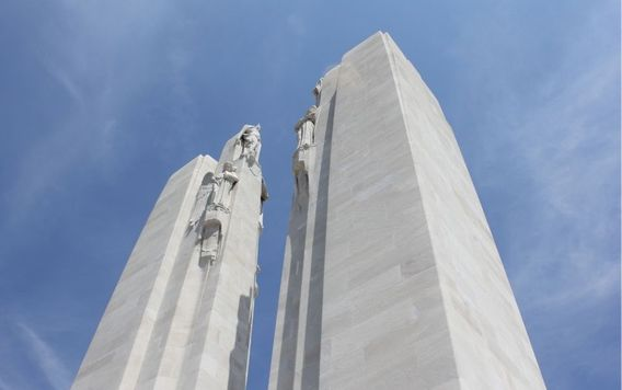 canadian national vimy ridge war memorial in france