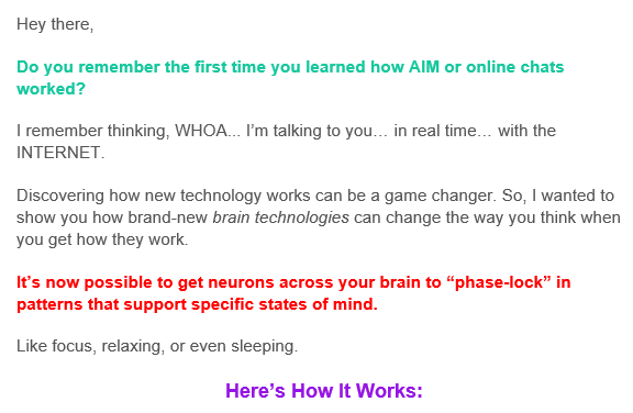 how it works email