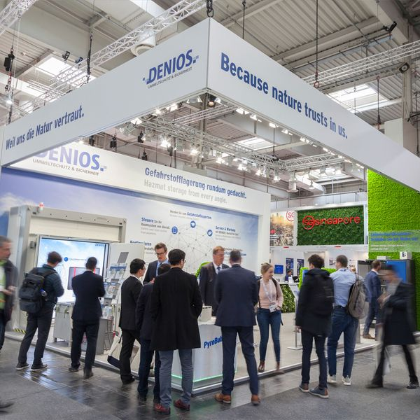 DENIOS Stand Hannover Messe 2019
