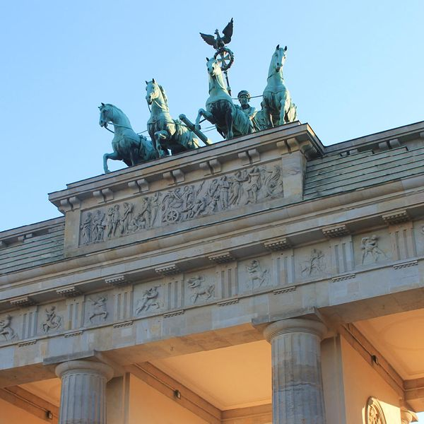 brandenburg gate in berlin germany