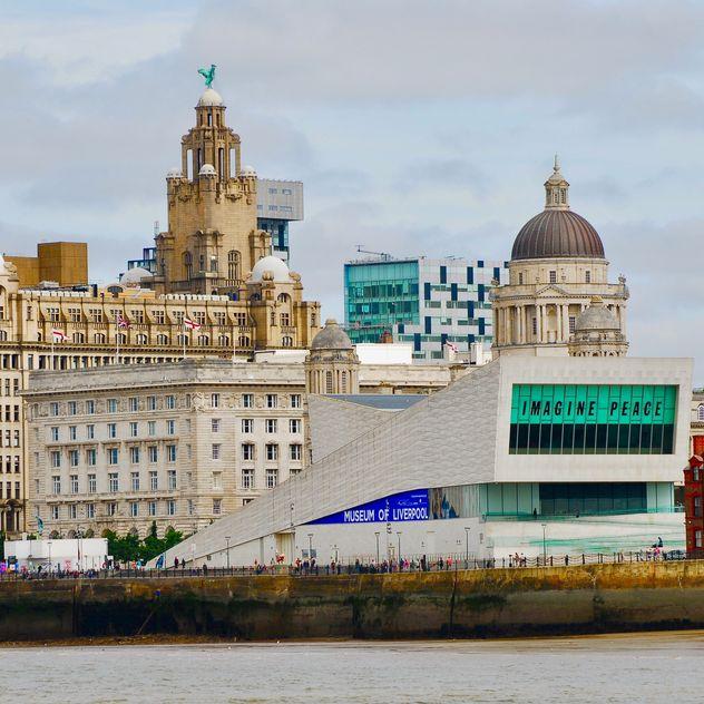 Liverpool city landscape