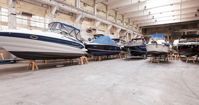 Bootslager bei XXLAGER in Berlin-Köpenick