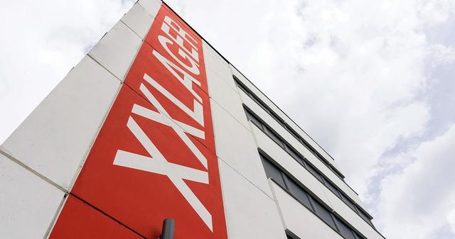 XXLAGER Gebäudefassade in Berlin-Köpenick
