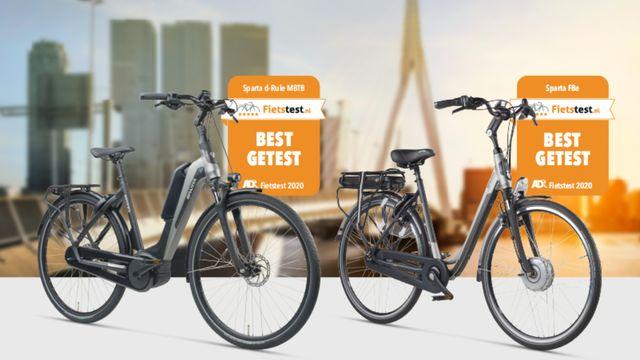 Sparta e-bikes in AD fietstest