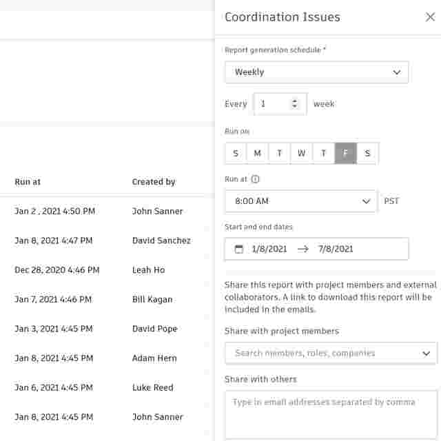 Daily Report Software for Construction Automate Schedule Reports.