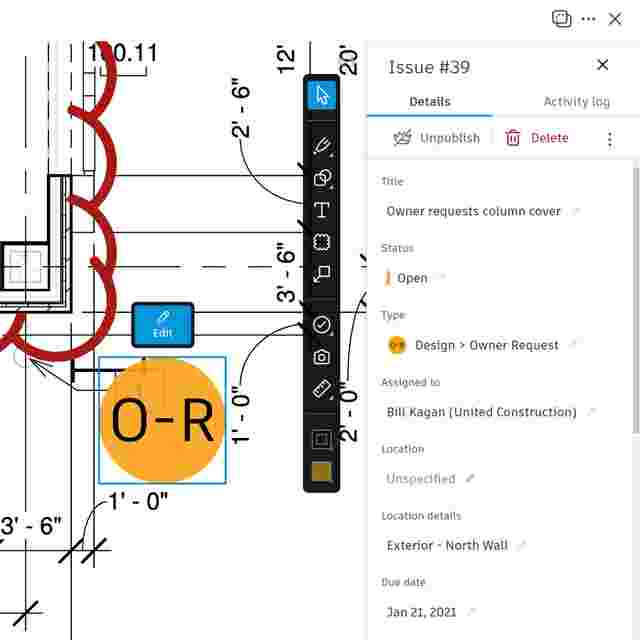 Document Management for Construction design review tools.