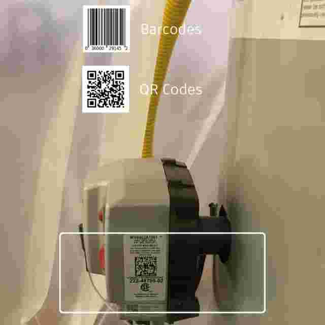 Asset Management Software for Construction tracks asset photos with QR codes.
