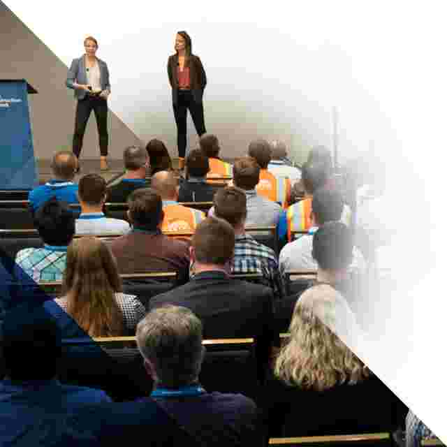 Construction industry thought leadership, presenting as an Autodesk Champion.
