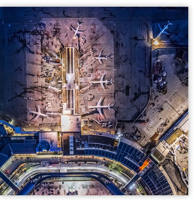 Autodesk used on airport and rail station construction