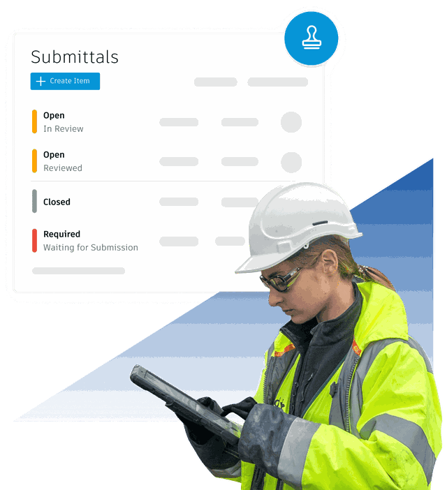 Construction Project Management Software for construction submittals