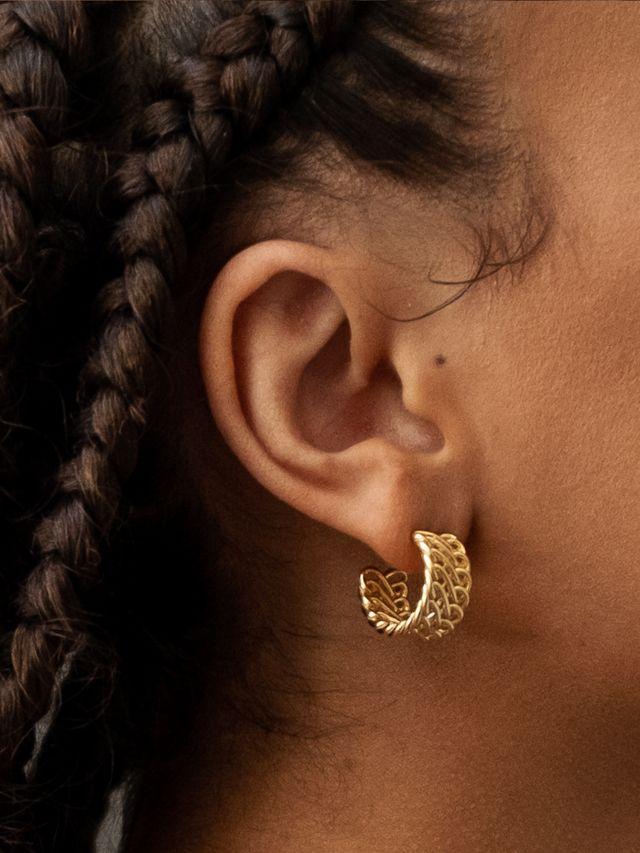 chains earrings