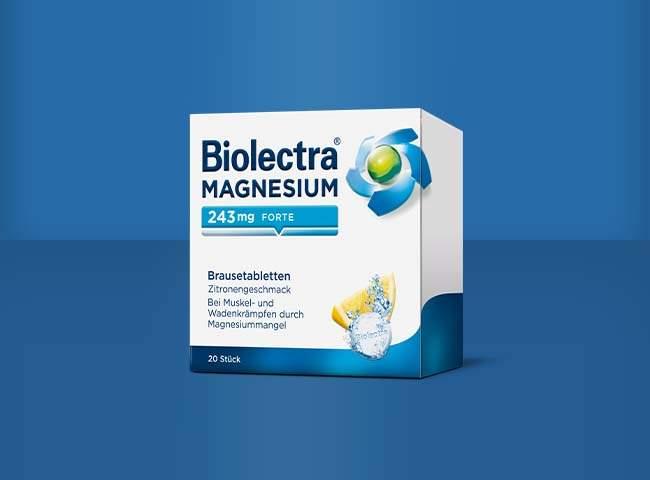 Packshot Biolectra Magnesium 243 mg forte