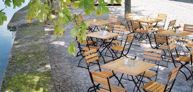 Beer garden furnitures