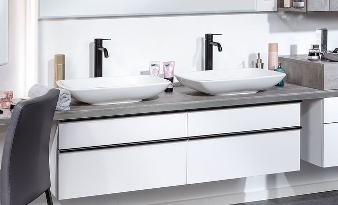 Doppelwaschbecken modern