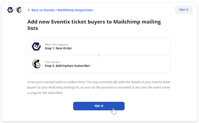 mailchimp zapier marketing automatisering