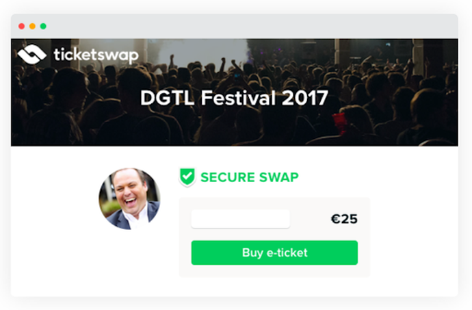 ticketswap secure swap logo verification
