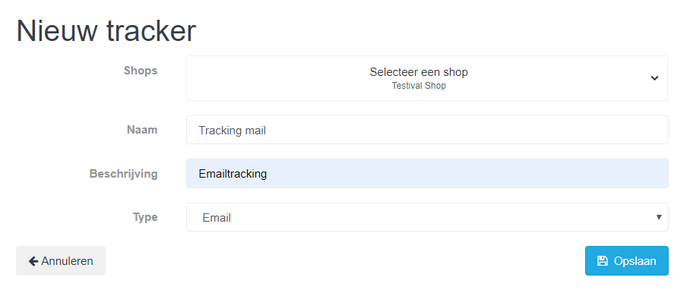 Tracking met Eventix en MailChimp