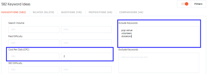 UberSuggest SEO Neil Patel Keyword Research Keyword Planner